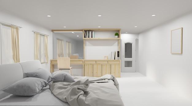 Interior moderno quarto de cama