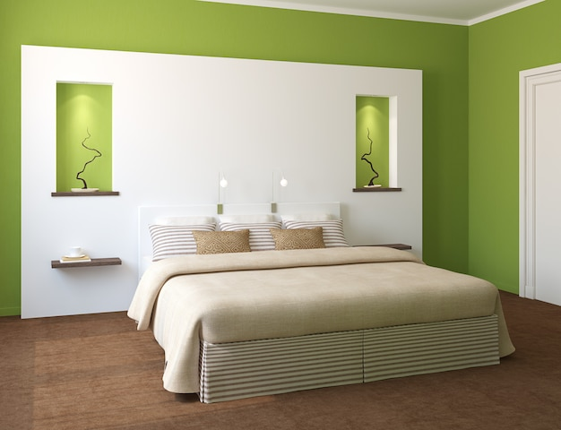 Interior moderno quarto