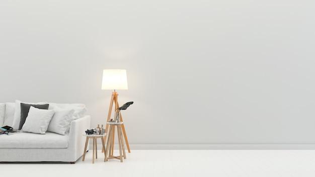 Interior sala de estar moderna parede de piso textura de fundo de mármore