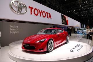 Internacional de genebra salão de automóveis de 2010, toyotageneva