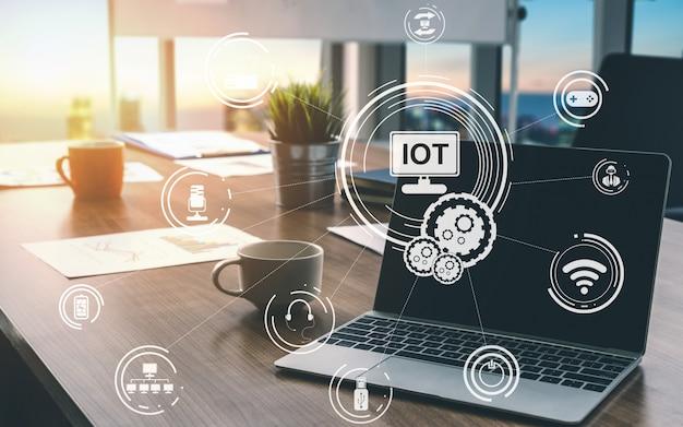 Internet das coisas e tecnologia de comunicação