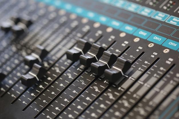 Interruptor, controlador de som, placa de mixer