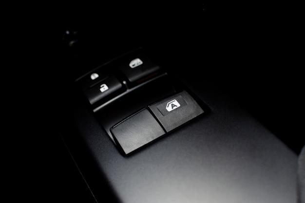 Interruptor de controle da janela do carro com sistema automático para cima e para baixo.