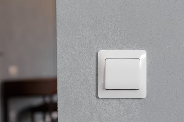Interruptor de luz moderno