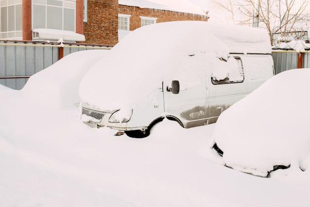 Inverno de neve, queda de neve ou limpeza de neve