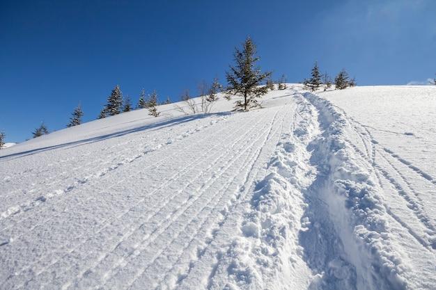 Inverno linda paisagem de natal.