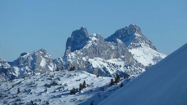 Inverno tannheimertal turnê gimpel neve skis