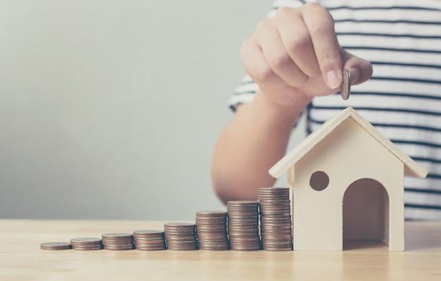 Investimento imobiliário e hipoteca da casa financeira