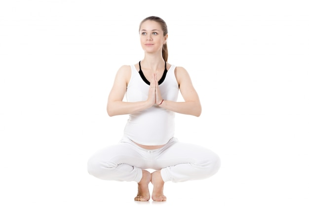 Ioga pré-natal, pose de mulabandhasana
