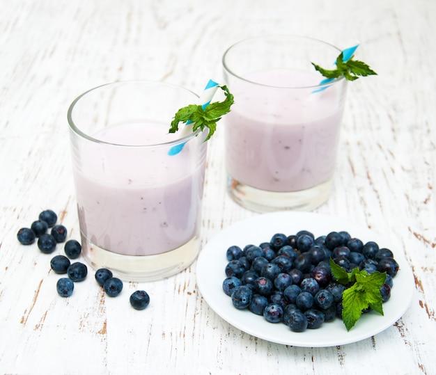 Iogurte de frutas frescas