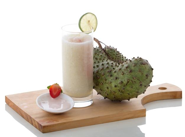 Iogurte e graviola misturam smoothies