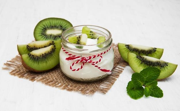Iogurte kiwi