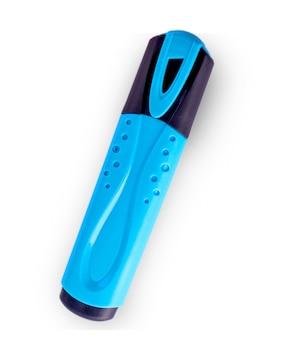 Isqueiro alto fechado de cor azul