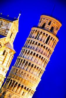 Itália, tuscany, pisa, torre inclinada, de, pisa