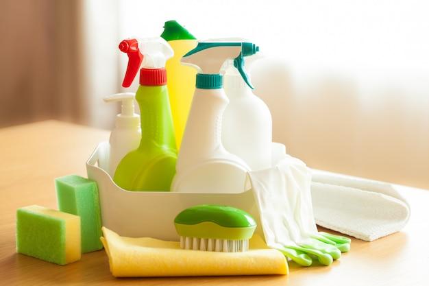 Itens de limpeza escova de pulverizador doméstico esponja luva