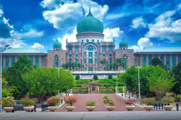 Jabatan perdana menteri durante o dia em putrajaya, malásia