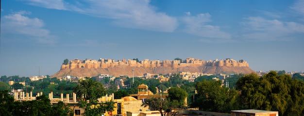 Jaisalmer fort, conhecido como o golden fort sonar quila, jaisalmer, índia