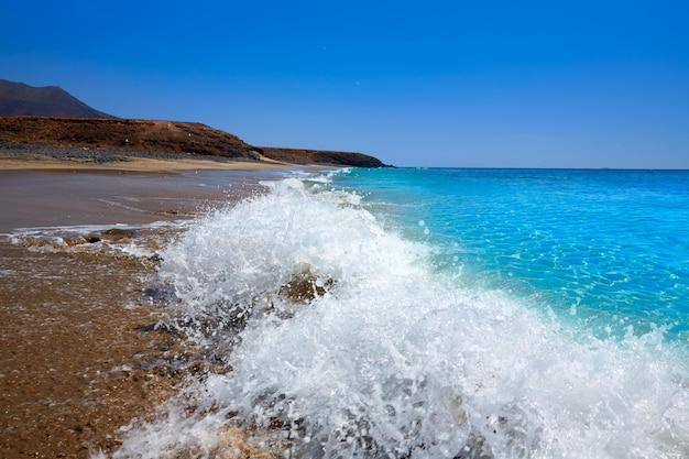Jandia beach fuerteventura nas ilhas canárias