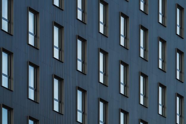 Janelas de um edifício residencial