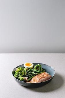 Jantar de dieta cetogênica
