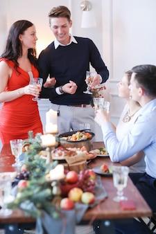Jantar de natal com a família