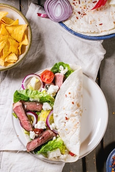 Jantar estilo mexicano