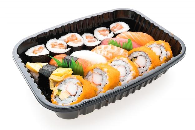 Japonês dieta de arroz top preto