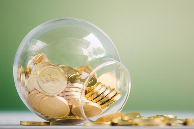 Jar com moedas