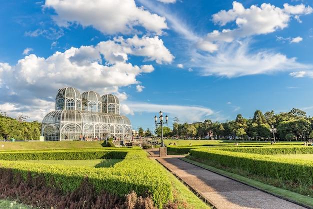 Jardim botânico, curitiba. estado do paraná, brasil