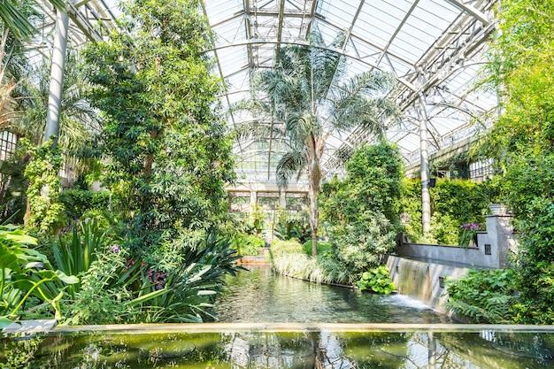 Jardim botânico greenhous.