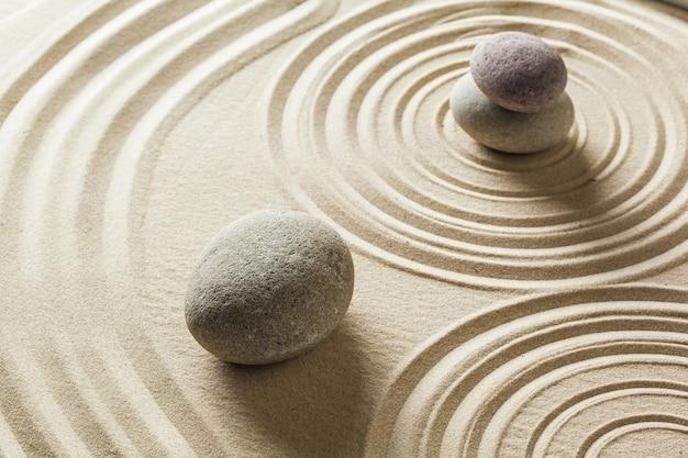 Jardim de pedra zen