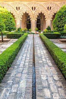 Jardim mourisco, zaragoza, espanha