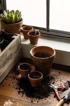 Jardinagem doméstica