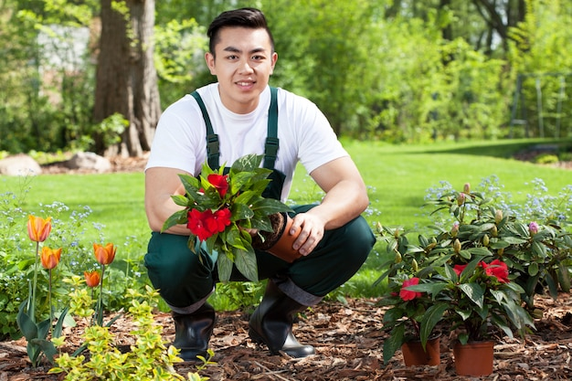 Jardineiro agricultor