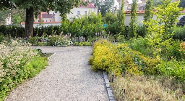 Jardins bernardine park no centro de vilnius