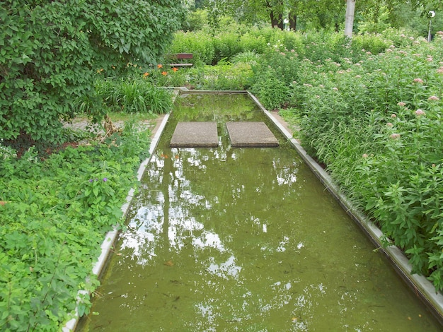 Jardins em stuttgart, alemanha