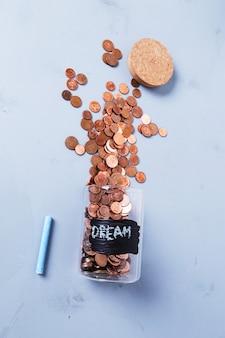 Jarra para moedas