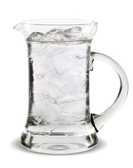 Jarro para água, isolado na superfície branca