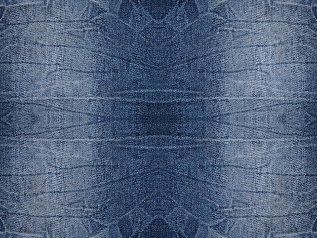 Jeans azul denim texturizado