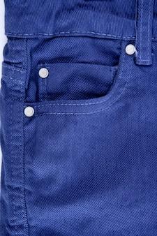 Jeans jeans azul bolso detalhe closeup textura
