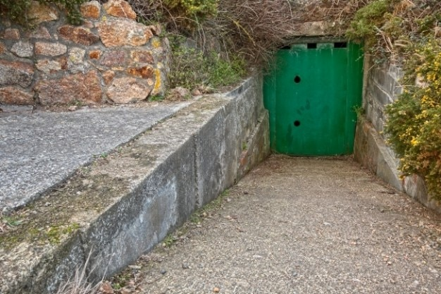 Jersey guerra bunker de hdr