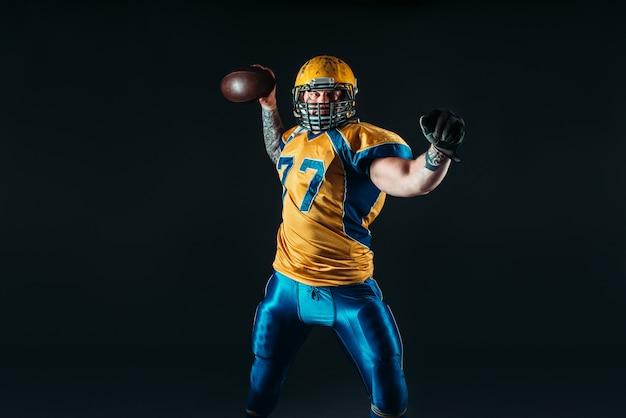 Jogador de futebol americano, liga nacional, nfl