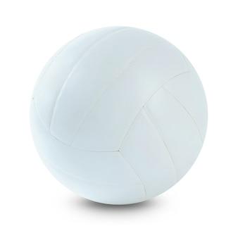 Jogador de voleibol com bola na quadra de vôlei