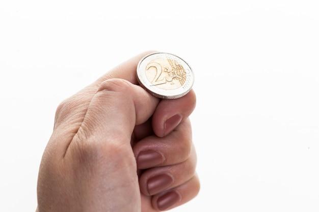 Jogando euro coin, heads ou tails você decide