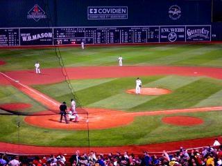 Jogo de beisebol fenway