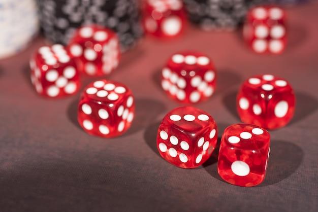 Jogo de pôquer de cassino. tema do jogo