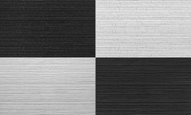 Jogo de quatro listrada textura de gesso