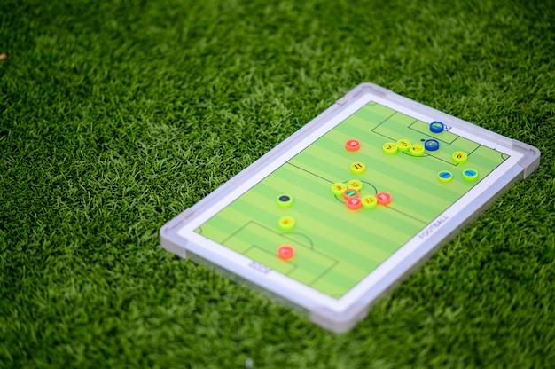 Jogo de tabuleiro de futebol