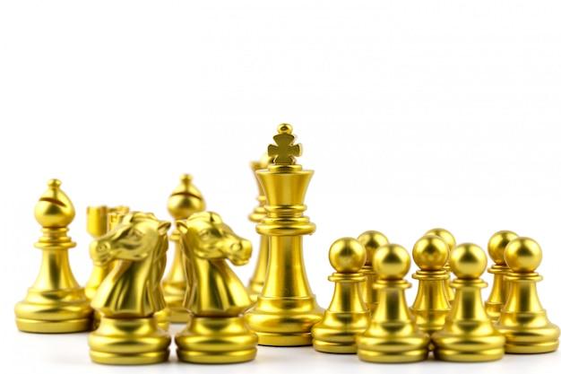 Jogo de tabuleiro de xadrez conceito de estratégia, planejamento e decisão, soluções de negócios para o sucesso.