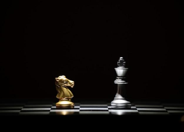Jogo de tabuleiro de xadrez para competição e estratégia